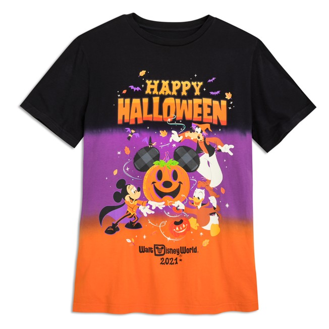 Mickey Mouse and Friends Halloween 2021 T-Shirt for Adults – Walt Disney World