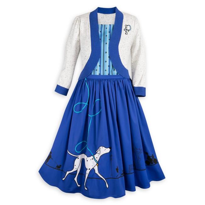 Perdita Dress and Cardigan Set for Women – 101 Dalmatians