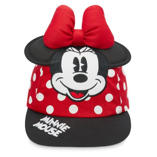 Minnie Mouse Polka Dot Baseball Cap for Kids