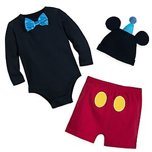 Mickey Mouse Tuxedo Bodysuit Set for Baby
