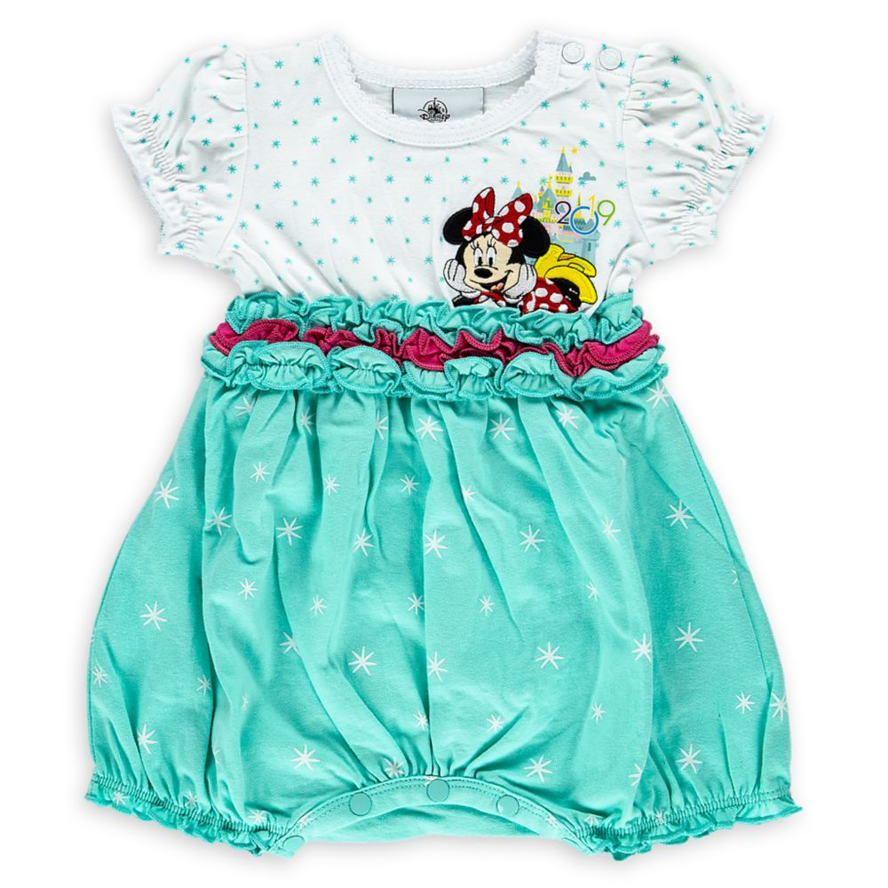 Minnie Mouse Bubble Bodysuit for Baby – Disneyland 2019