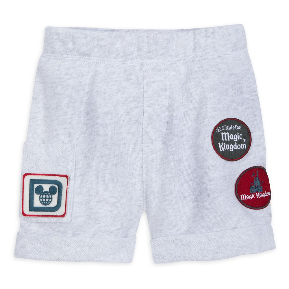 Magic Kingdom Shorts for Baby by Junk Food