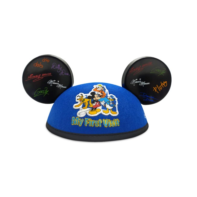 Mickey Mouse and Friends ''My First Visit'' Ear Hat for Baby – Disneyland