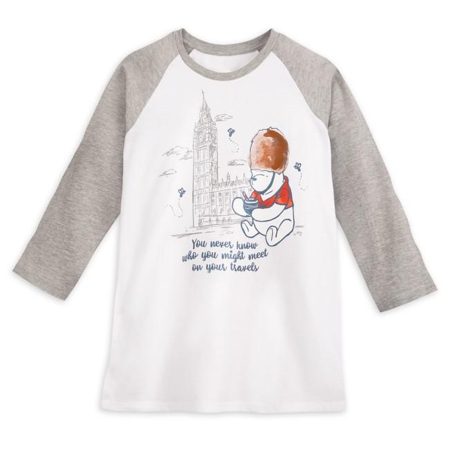 Winnie the Pooh Classic Raglan T-Shirt for Kids