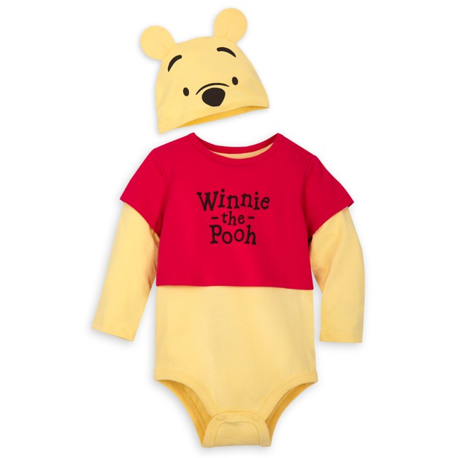 Winnie the Pooh Classic Costume Bodysuit with Hat for Baby – Epcot
