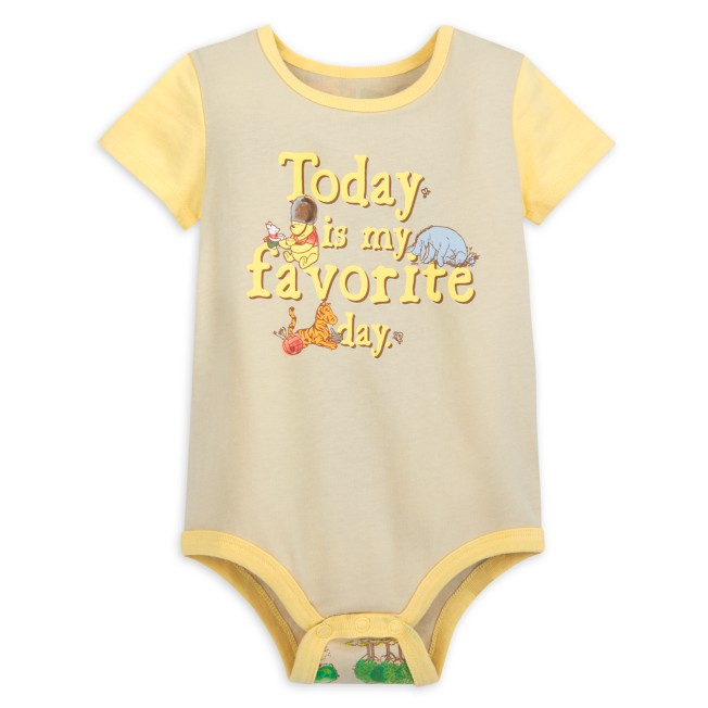 Winnie the Pooh Classic Bodysuit for Baby
