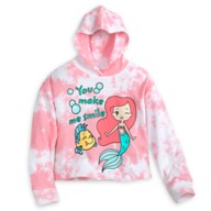 Ariel and Flounder Pullover Hoodie for Kids