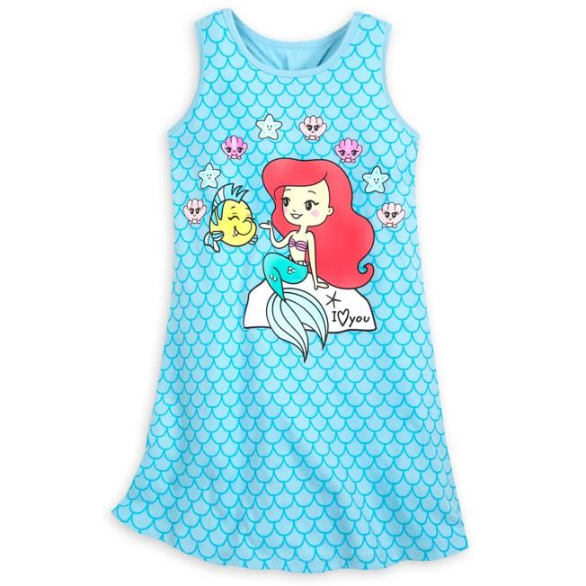 The Little Mermaid Tank Dress for Kids
