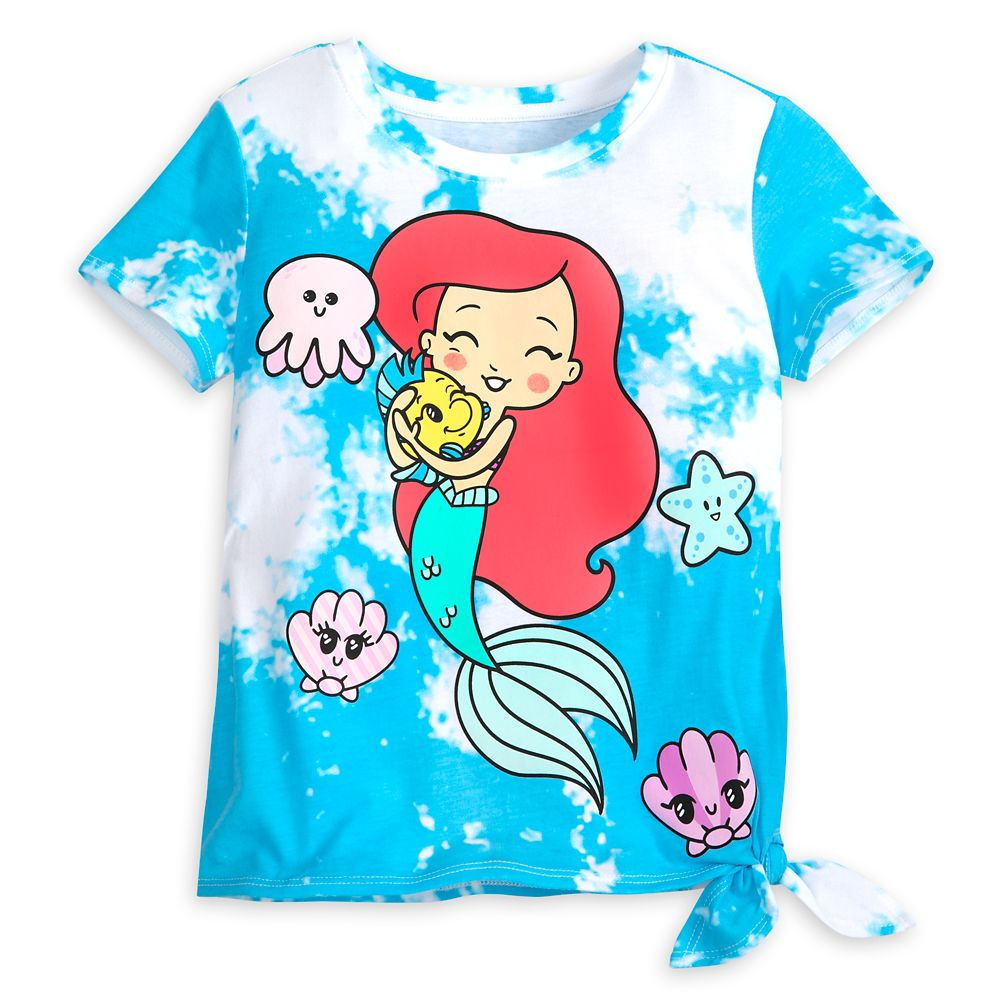Ariel and Flounder T-Shirt for Kids