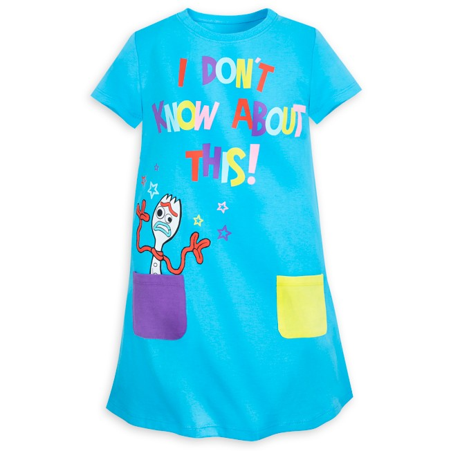 Forky T-Shirt Dress for Kids – Toy Story 4