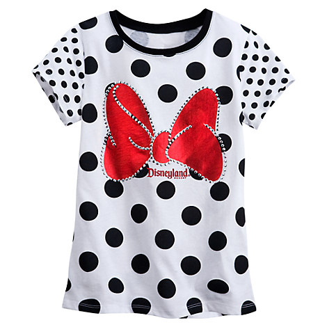 Minnie Mouse Polka Dot Tee for Girls - Disneyland