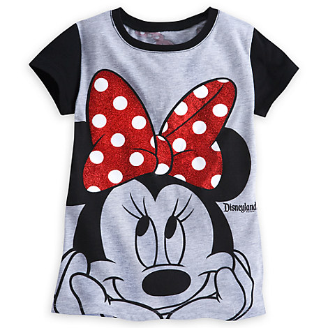 Minnie Mouse Bow Tee for Girls - Disneyland
