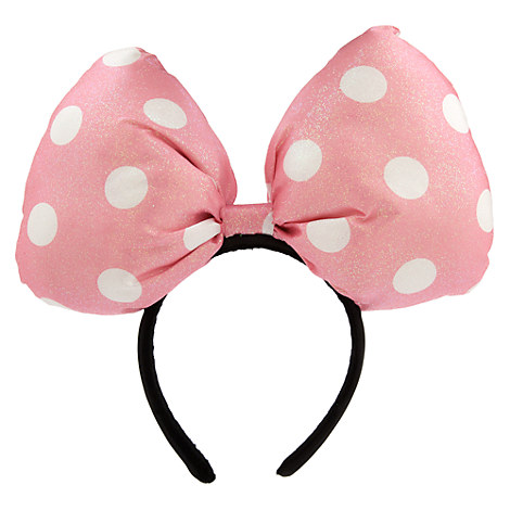 Minnie Mouse Super Bow Headband