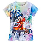 Sorcerer Mickey Mouse Sublimated Tee for Girls - Walt Disney World 2016