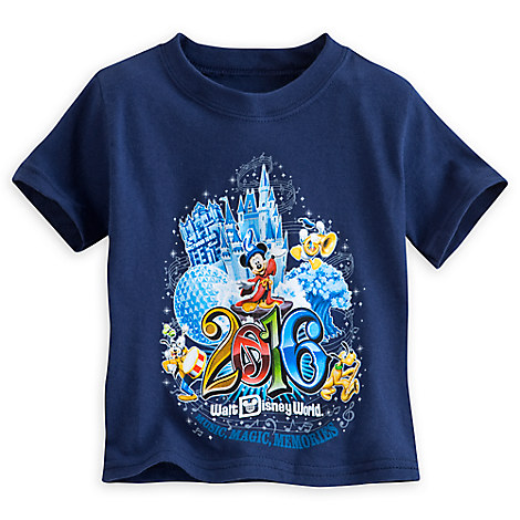 Sorcerer Mickey Mouse and Friends Tee for Toddlers - Walt Disney World 2016