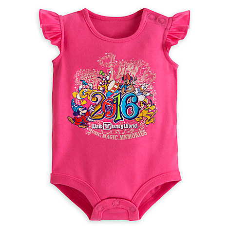 Sorcerer Mickey Mouse and Friends Bodysuit for Baby Girls - Walt Disney World 2016