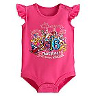 Sorcerer Mickey Mouse and Friends Bodysuit for Baby Girls - Disneyland 2016