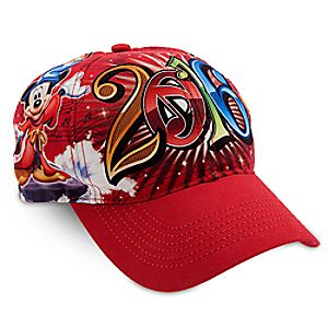 Sorcerer Mickey Mouse and Friends Baseball Cap for Kids - 2016