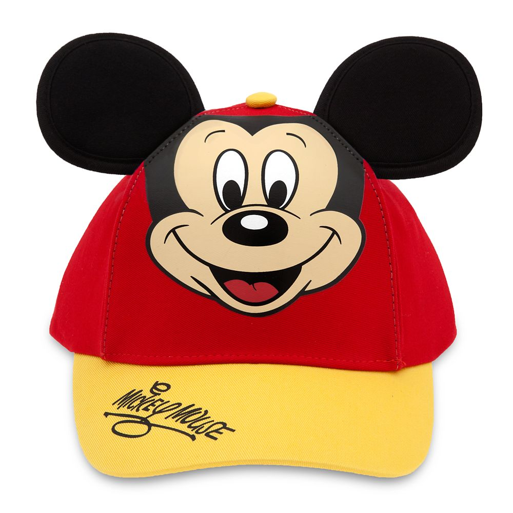 Mickey Mouse Baseball Cap for Kids  Red/Gold Official shopDisney