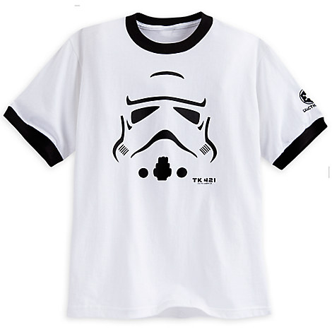Stormtrooper Ringer Tee for Boys - Star Wars