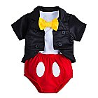 Mickey Mouse Tuxedo Costume Bodysuit for Baby - Disney Parks