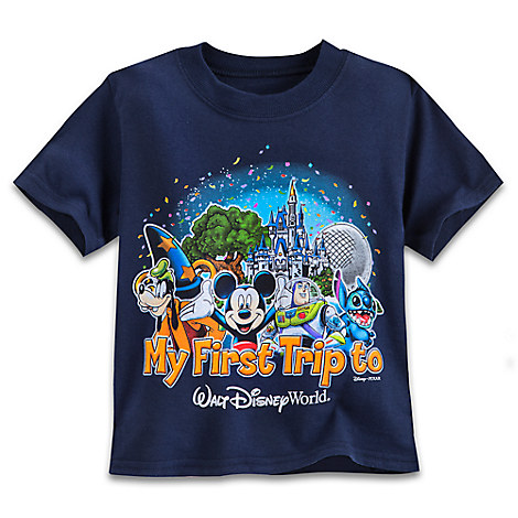 Mickey Mouse and Friends ''My First'' Tee for Toddlers - Walt Disney World