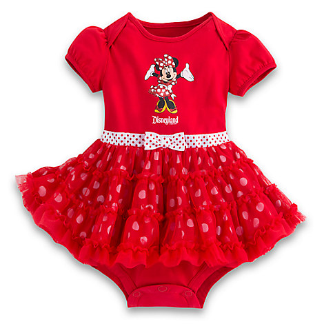 Minnie Mouse Ruffled Bodysuit for Baby  - Disneyland
