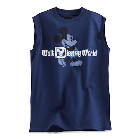 Mickey Mouse Sleeveless Tee for Boys - Walt Disney World