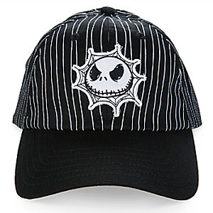 Jack Skellington Striped Baseball Cap for Kids