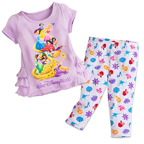 Disney Princess Top and Leggings Set for Baby - Walt Disney World