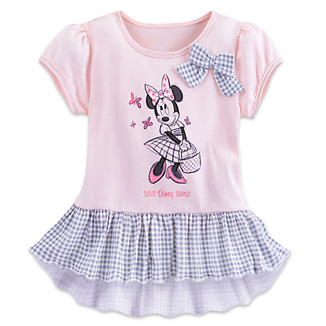 Minnie Mouse Gingham Top for Toddlers - Walt Disney World