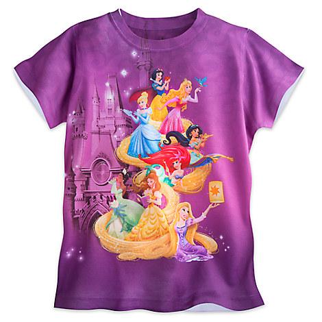Disney Princess Sublimated Tee for Girls - Walt Disney World