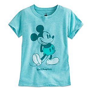 Mickey Mouse Tee for Girls - Mint - Walt Disney World