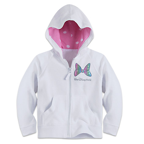 Minnie Mouse Sequined Hoodie for Girls - Walt Disney World