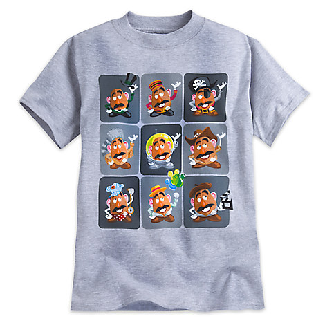 Mr. Potato Head Tee for Boys - Disney Parks
