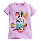 Minnie Mouse Tee for Girls - Polynesian Village Resort - Walt Disney World