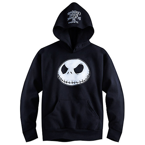 Jack Skellington Pullover Hoodie for Boys