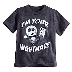 Jack Skellington and Zero Tee for Toddler Boys