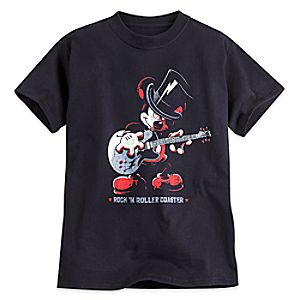 Mickey Mouse Rock n Roller Coaster Tee for Boys