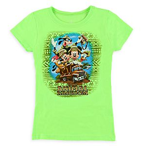 Mickey Mouse and Friends Tee for Girls - Disneys Animal Kingdom