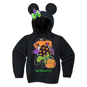 Minnie Mouse Witch Costume Hoodie for Girls - Halloween - Walt Disney World