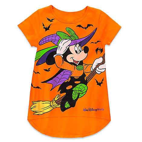 Minnie Mouse Witch Tee for Girls - Halloween 2016 - Walt Disney World