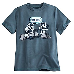 Speeder Bike Troopers Nice Bike Tee for Kids - Star Wars