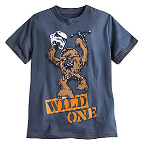 Chewbacca Wild One Tee for Boys - Star Wars