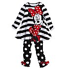 Minnie Mouse Dress Set for Toddler Girls