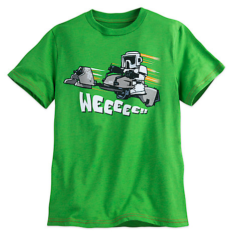 Speeder Bike Trooper Tee for Boys - Star Wars