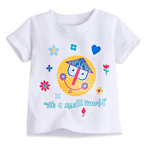 ''it's a small world'' Tee for Baby