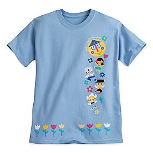 """it's a small world"" Tee for Girls"