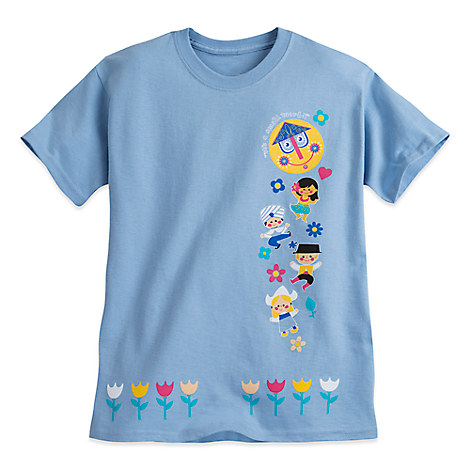 ''it's a small world'' Tee for Girls