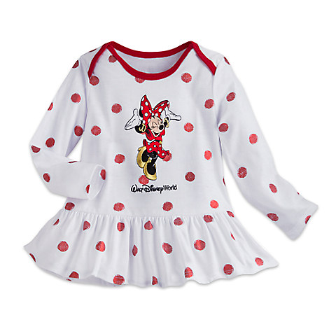Minnie Mouse Long Sleeve Knit Dress for Baby - Walt Disney World